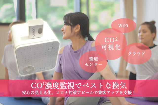 CO2濃度監視